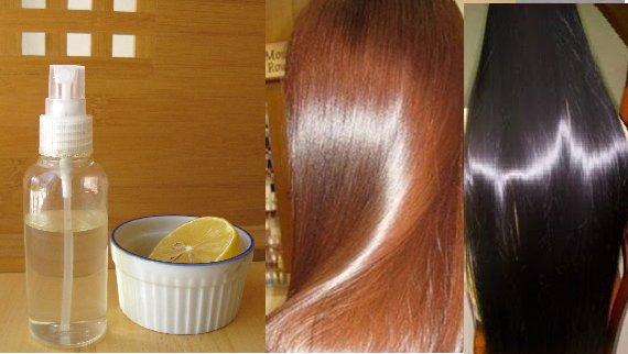 Распылите это на Ваши чистые волосы и они будут выглядеть глянцевыми и супер шелковистыми долгое время