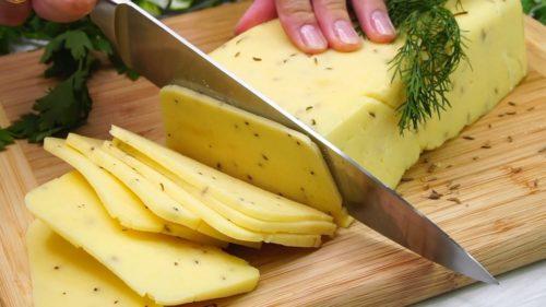 Хватит покупать в магазине! Вкуснейший натуральный твердый сыр за 30 минут