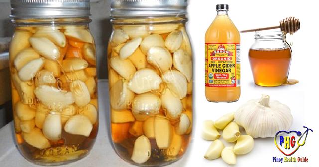 Естественное сочетание чеснока, яблочного уксуса и меда может лечить диабет, ожирение, диспепсию и многое другое!