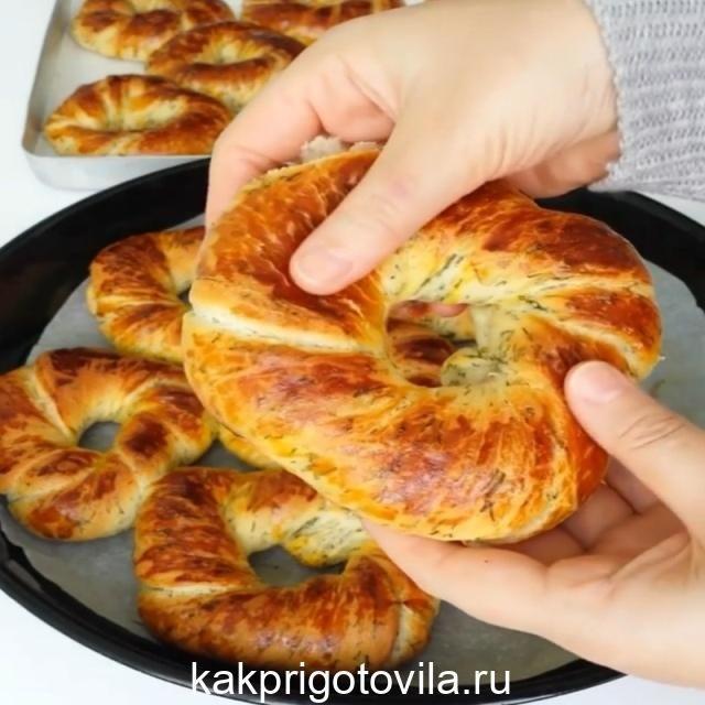 Превосходные Турецкие Бублики, очень ароматные и очень мягкие.