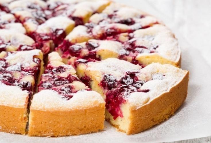 Самый лучший рецепт вишнево-сметанного пирога. Просто пальчики оближешь!