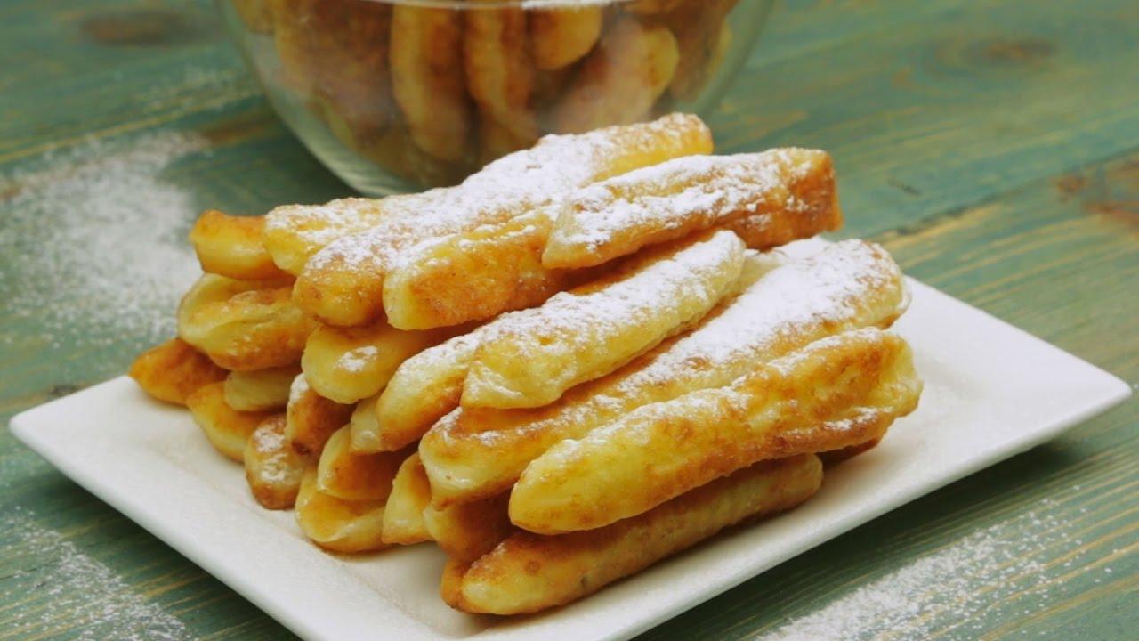 Творожные палочки: десерт, который тает во рту