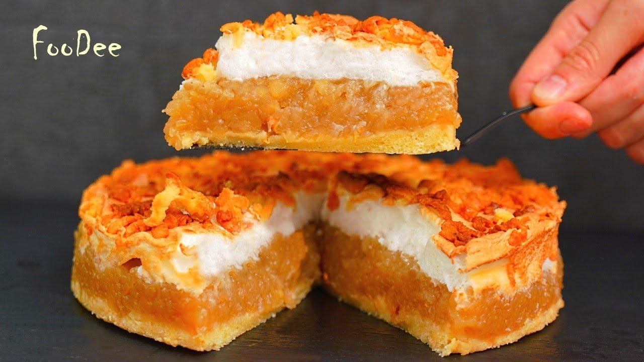Вместо «Шарлотки» – яблочный пирог «Облака». Очень много начинки и мало теста!