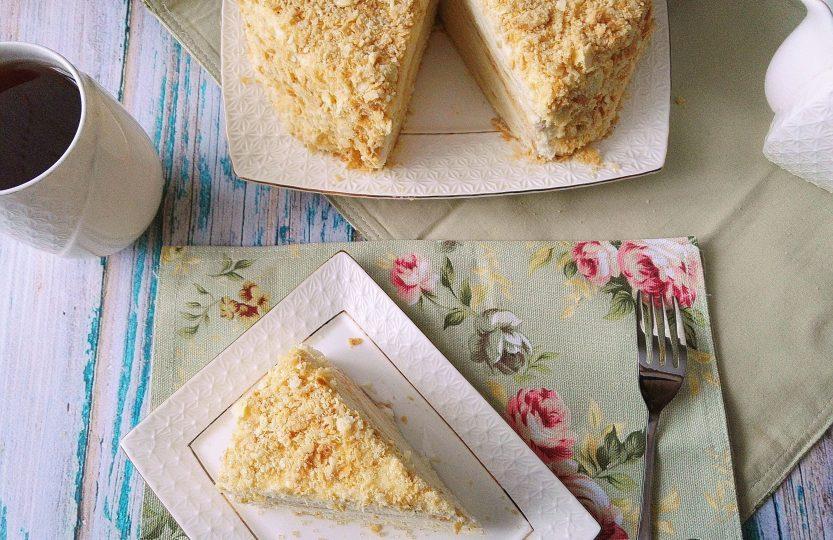 Классический рецепт торта Наполеон с фото пошагово