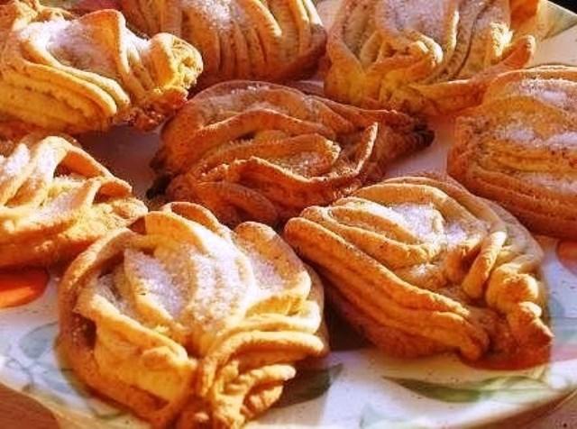 Печенье «Хризантемы» из детства, от которого сложно оторваться!