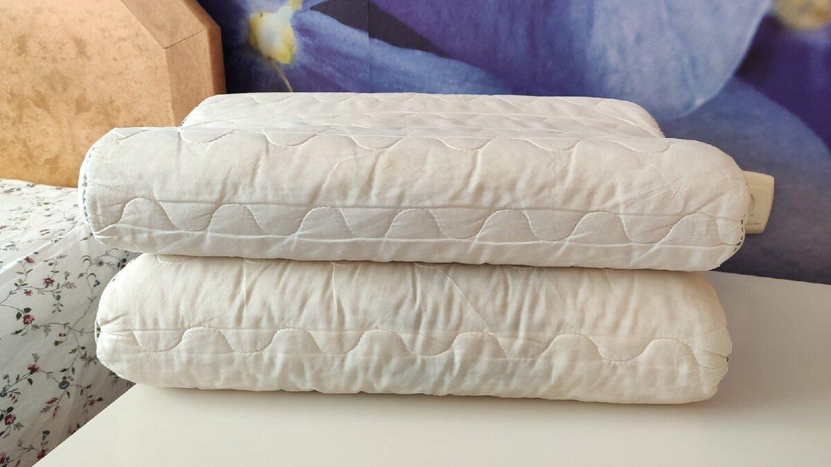 Не могу больше смотреть на жёлтые пятна на подушках, ещё и пыль столбом. Мой способ стирки (проще простого)