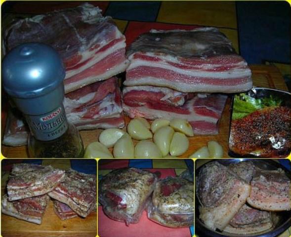 Свиная грудинка (в пакетах) — нереально вкусно