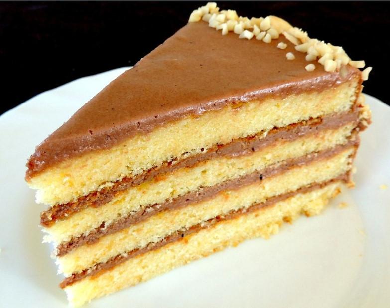 Торт Маша. Рецепт привезен из Италии